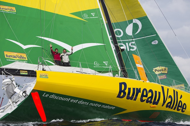 Louis Burton - IMOCA - Bureau Vallée photo S.Maillard