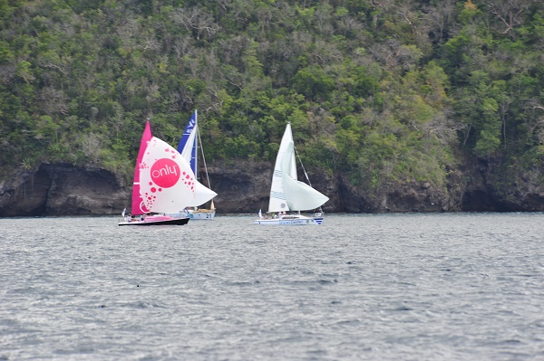 Tour Martinique Voile 2016 - photo A.Cassim