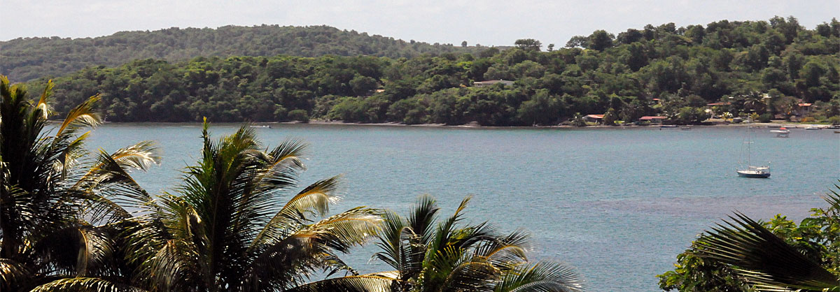Paysage mer Martinique